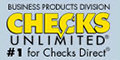 Checks Unlimited Business Checks Coupons Logo