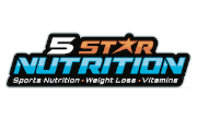 5 Star Nutrition Coupons Logo