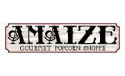 Amaize Gourmet Popcorn Shoppe Coupons Logo