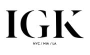 IGK Hair  Coupons Logo