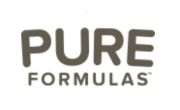 Pure Formulas Coupons Logo