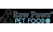 Raw Paws Pet Food Coupons Logo