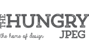 The Hungry JPEG Logo