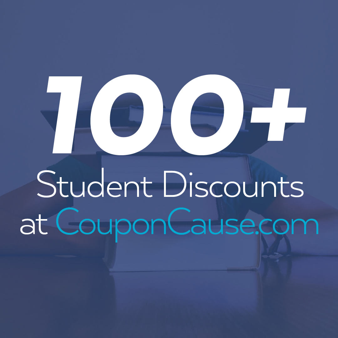 Coupon Cause Student Discounts