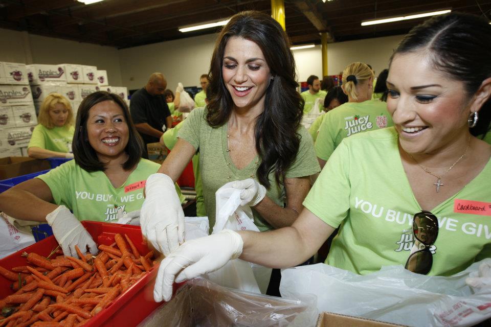 LA Food Bank Volunteers