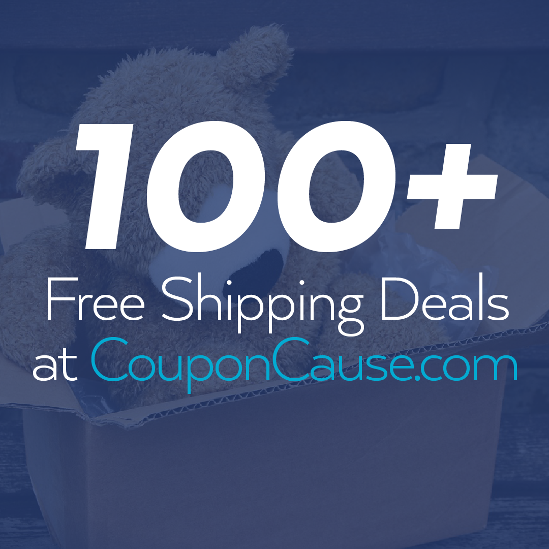 Coupon Cause Free Shipping Deals