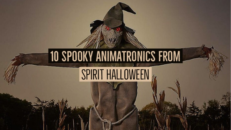 beyond costumes 10 spirit halloween animatronics for your home