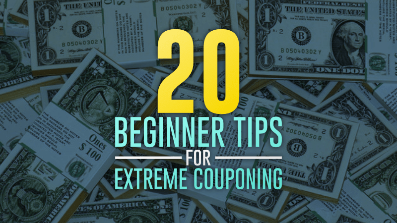 20 Beginner Tips For Extreme Couponing Couponcause Com